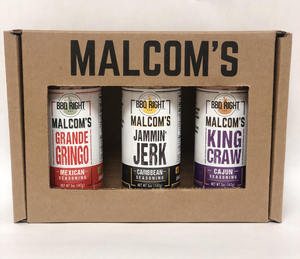 MALCOM'S 3-PK GIFT BOX