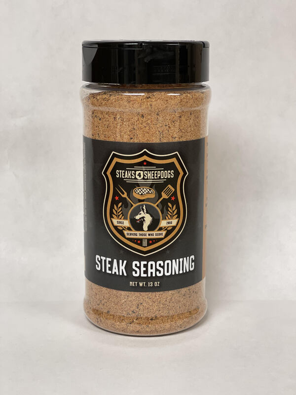 STEAKS 4 SHEEPDOGS STEAK SEASONING