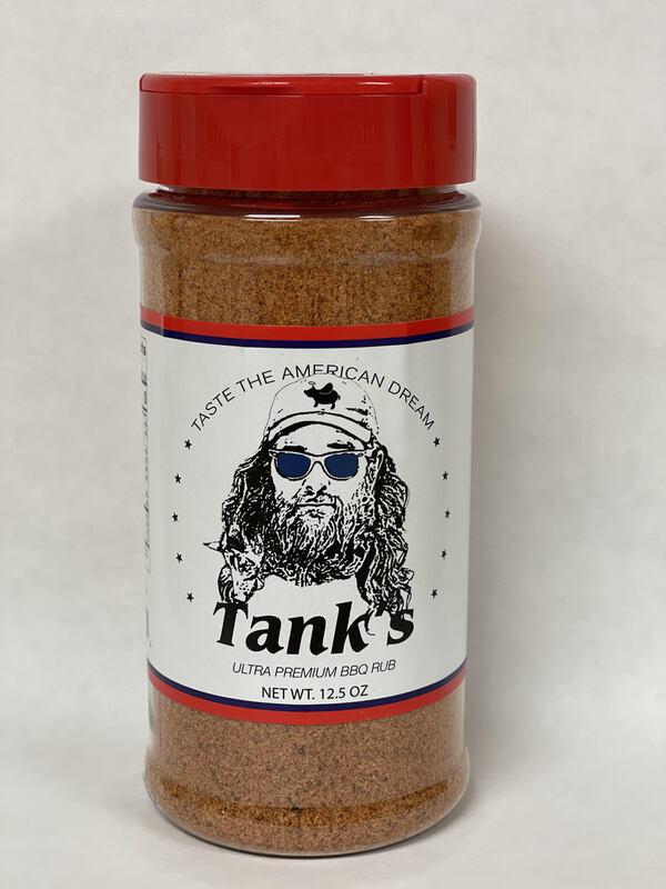TANK'S ULTRA PREMIUM BBQ RUB